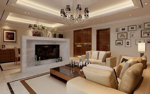 7.9万预算160平米四室两厅装修效果图