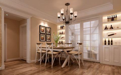 餐厅走廊美式风格装修图片