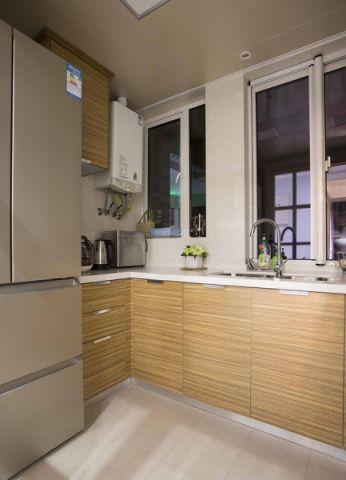 厨房走廊现代简约风格装潢图片