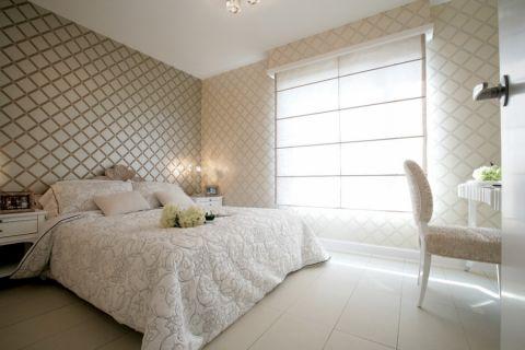 卧室窗帘简欧设计图欣赏