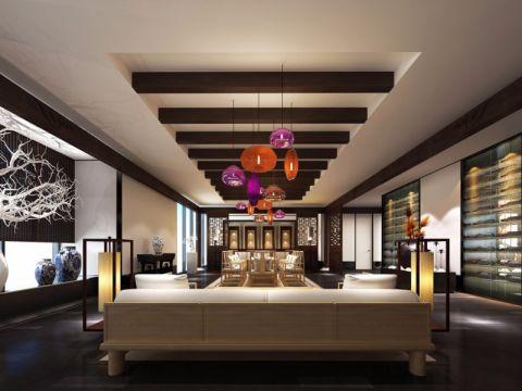 中餐厅饭店装修效果图