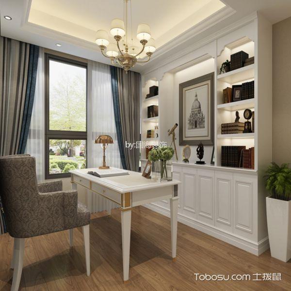 书房 书桌_9.7万预算120平米三室两厅装修效果图