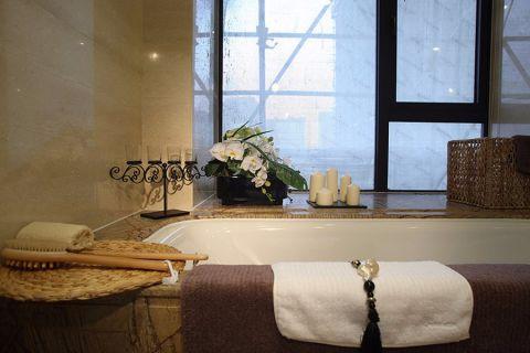 卫生间窗台中式风格装修图片