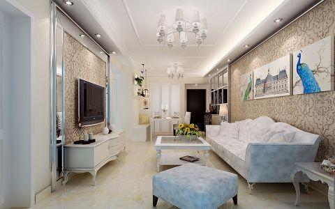 12万预算90平米套房装修效果图
