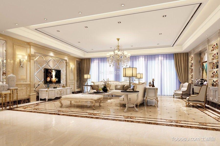 85万预算350平米别墅装修效果图