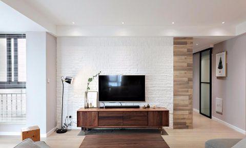 8.3万预算114平米三室两厅装修效果图