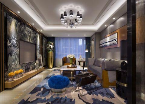 10.8万预算120平米三室两厅装修效果图