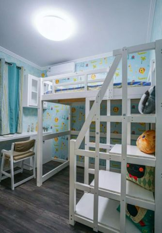 儿童房吊顶北欧风格装饰效果图