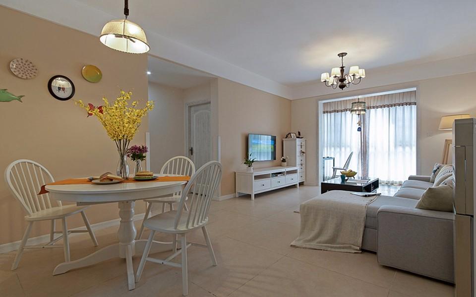 2室1卫1厅82平米现代简约风格