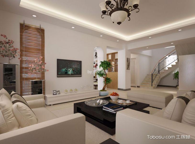 9万预算120平米两室两厅装修效果图