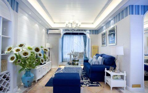 9万预算100平米两室两厅装修效果图