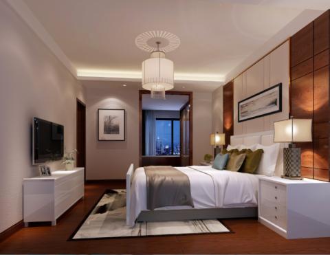 卧室吊顶现代风格装饰设计图片