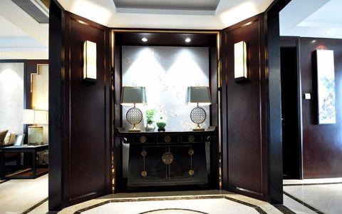 玄关背景墙新中式风格效果图