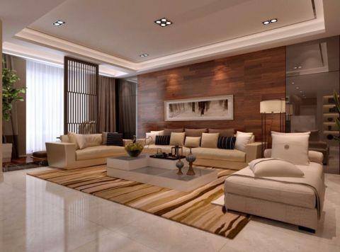 客厅照片墙简约风格装潢效果图