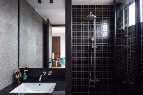 卫生间背景墙简约风格装修效果图