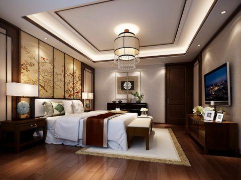 卧室电视柜新中式风格装修图片