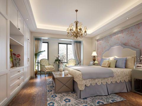 卧室背景墙地中海风格装饰效果图