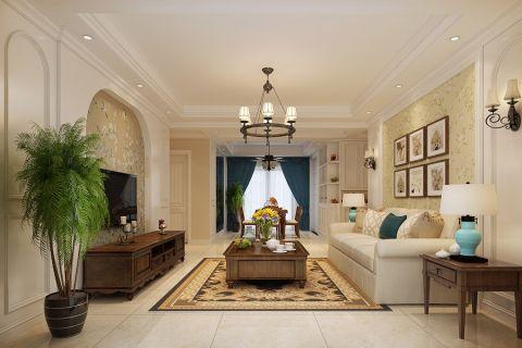 3.9万预算110平米三室两厅装修效果图