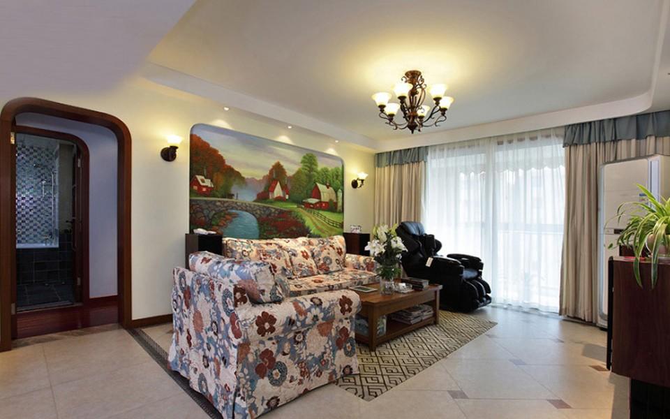 3室1卫2厅91平米地中海风格