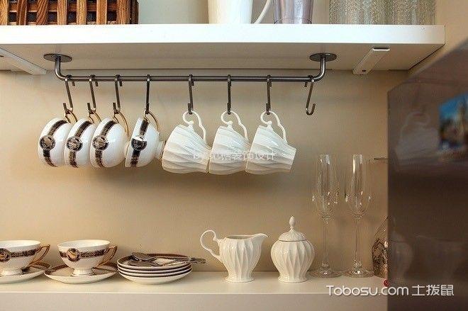 厨房白色细节现代简约风格装修图片