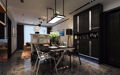 餐厅走廊现代简约风格装修设计图片