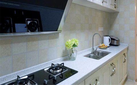 厨房背景墙简约风格装潢设计图片
