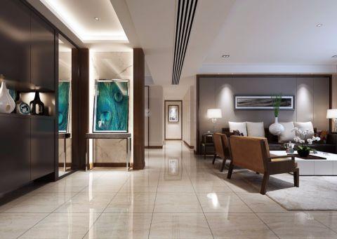 客厅走廊简单风格装潢图片