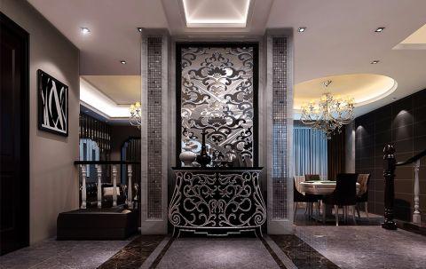 玄关门厅后现代风格装饰设计图片