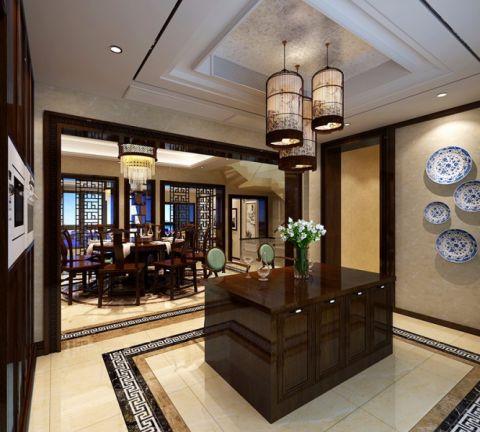 餐厅餐桌中式风格装修效果图
