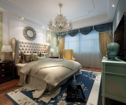 卧室窗帘法式风格装修效果图