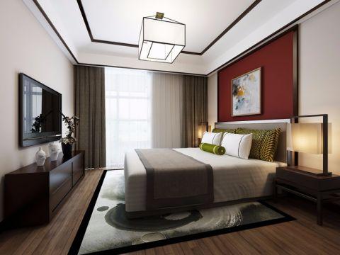 卧室电视柜简欧风格装饰图片