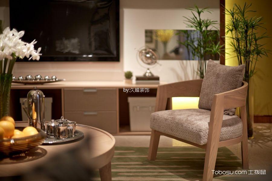 客厅米色细节现代风格装饰效果图
