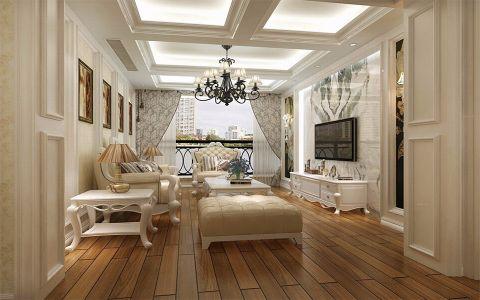 15万预算110平米三室两厅装修效果图
