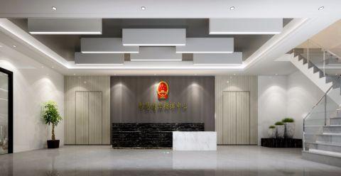 贵州智慧湄潭指挥中心写字楼装修效果图