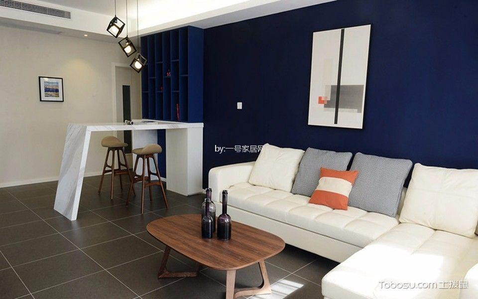 中德英伦联邦现代简约三房二厅二卫清新装修效果图