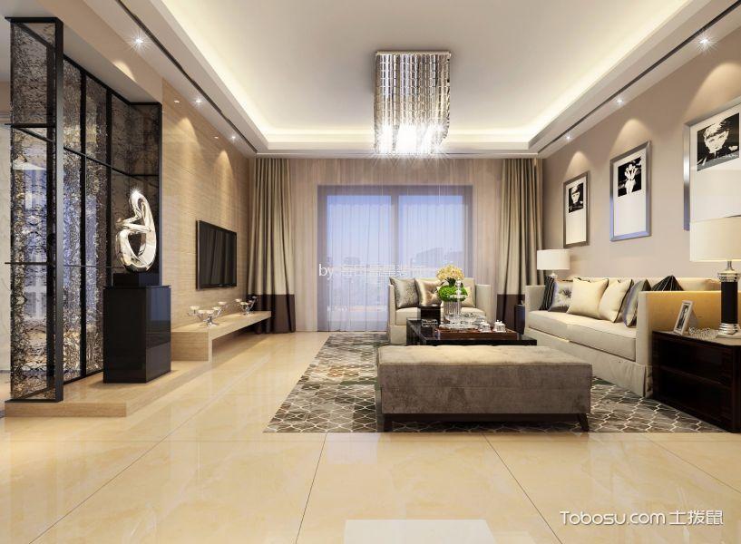 15万预算160平米公寓装修效果图