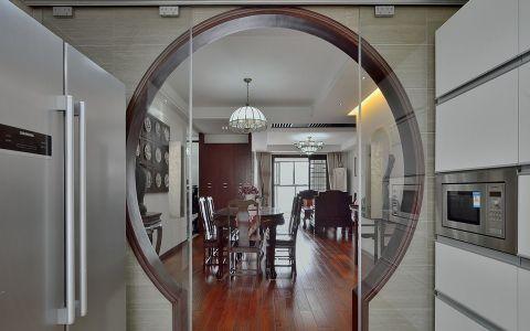 厨房隔断新中式风格装修图片