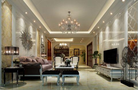 11万预算120平米公寓装修效果图