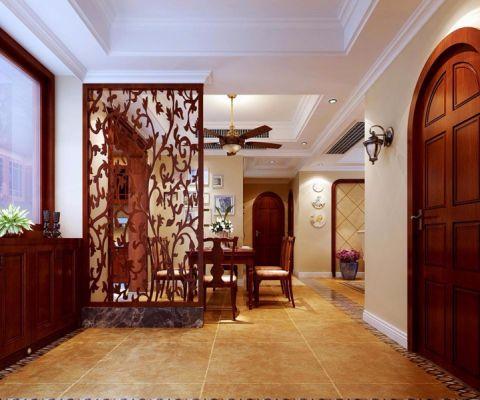 餐厅隔断地中海风格装潢设计图片