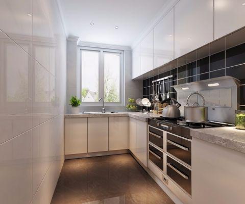 厨房窗帘简约风格装饰图片