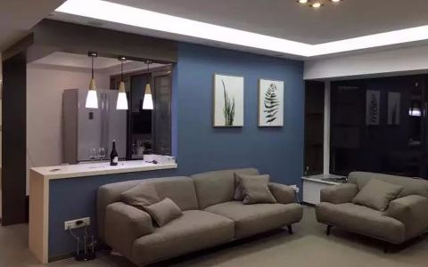 11万预算127平米三室两厅装修效果图