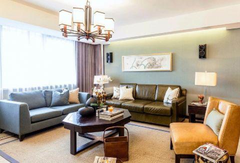 6.5万预算90平米三室两厅装修效果图
