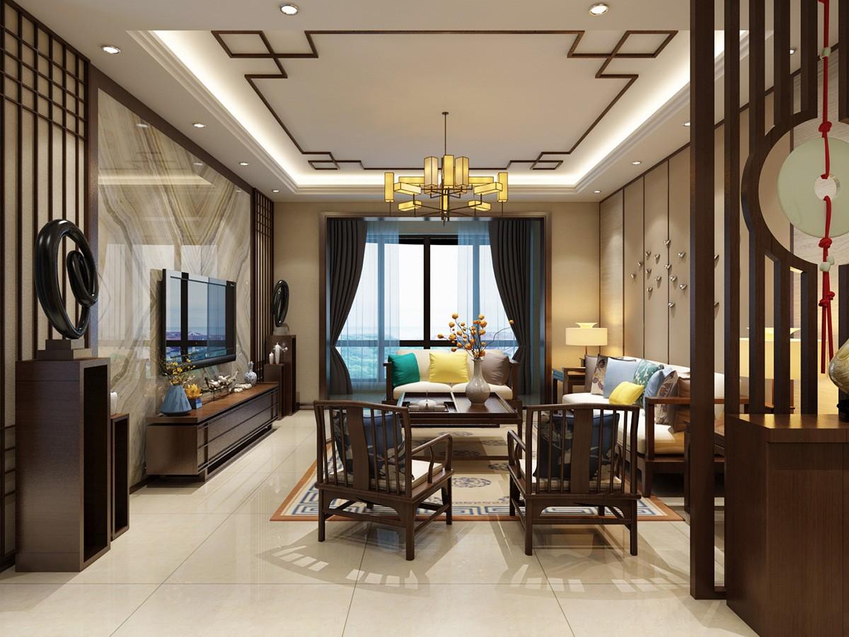 4室2卫2厅260平米新中式风格