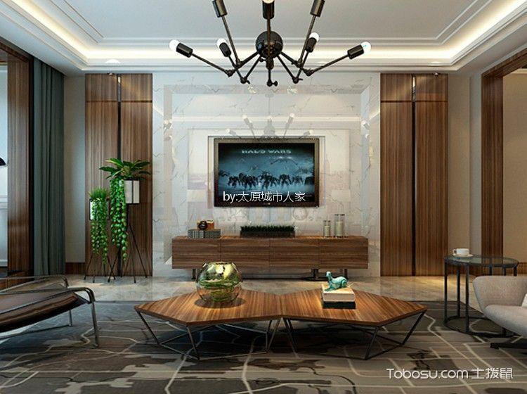7万预算180平米四室两厅装修效果图