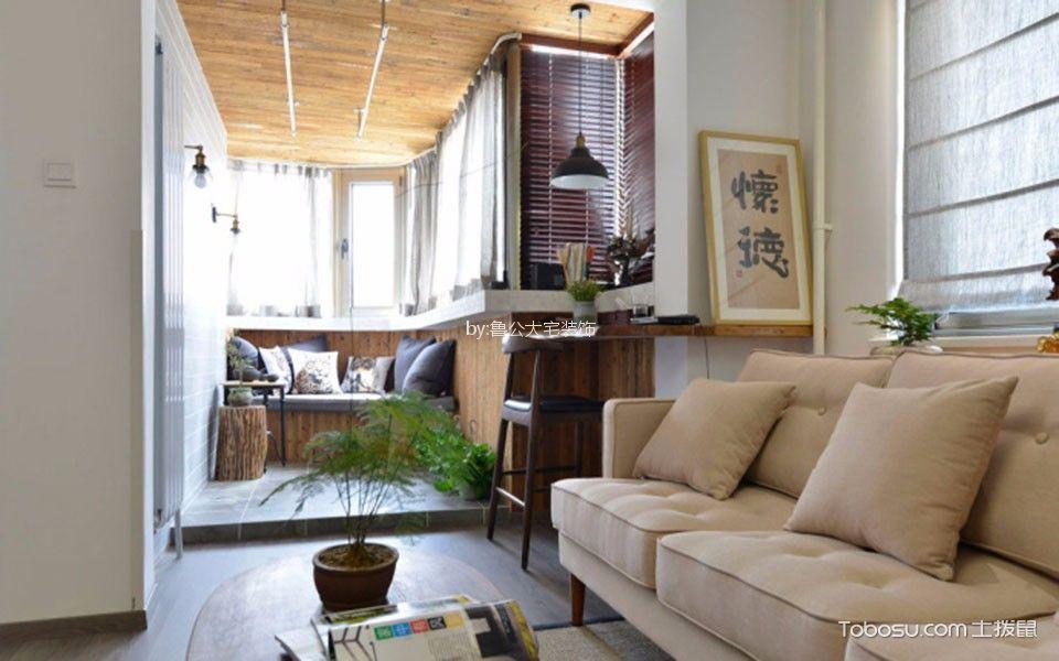 绿色新都两居室现代简约