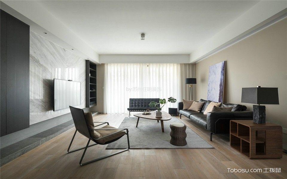 17万预算160平米四室两厅装修效果图