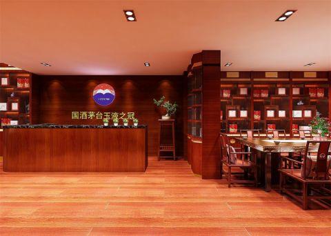 现代风格酒庄展厅装修效果图