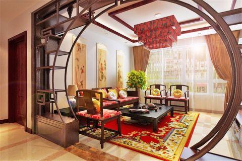 12万预算100平米两室两厅装修效果图