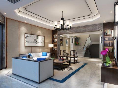 200万预算420平米别墅装修效果图