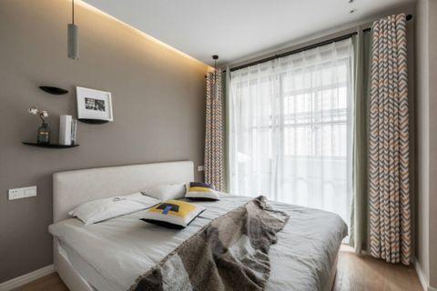 卧室床北欧风格装修设计图片